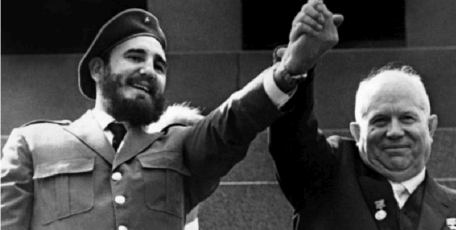 "Fidel com Khroutschov: stalinismo joga com Cuba na ""guerra fria"""
