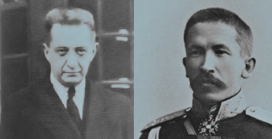 Kerensky e Kornilov