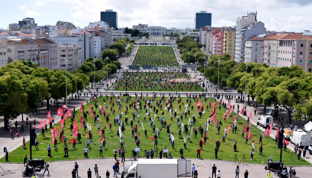 1° de maio de 2020 em Lisboa, Portugal