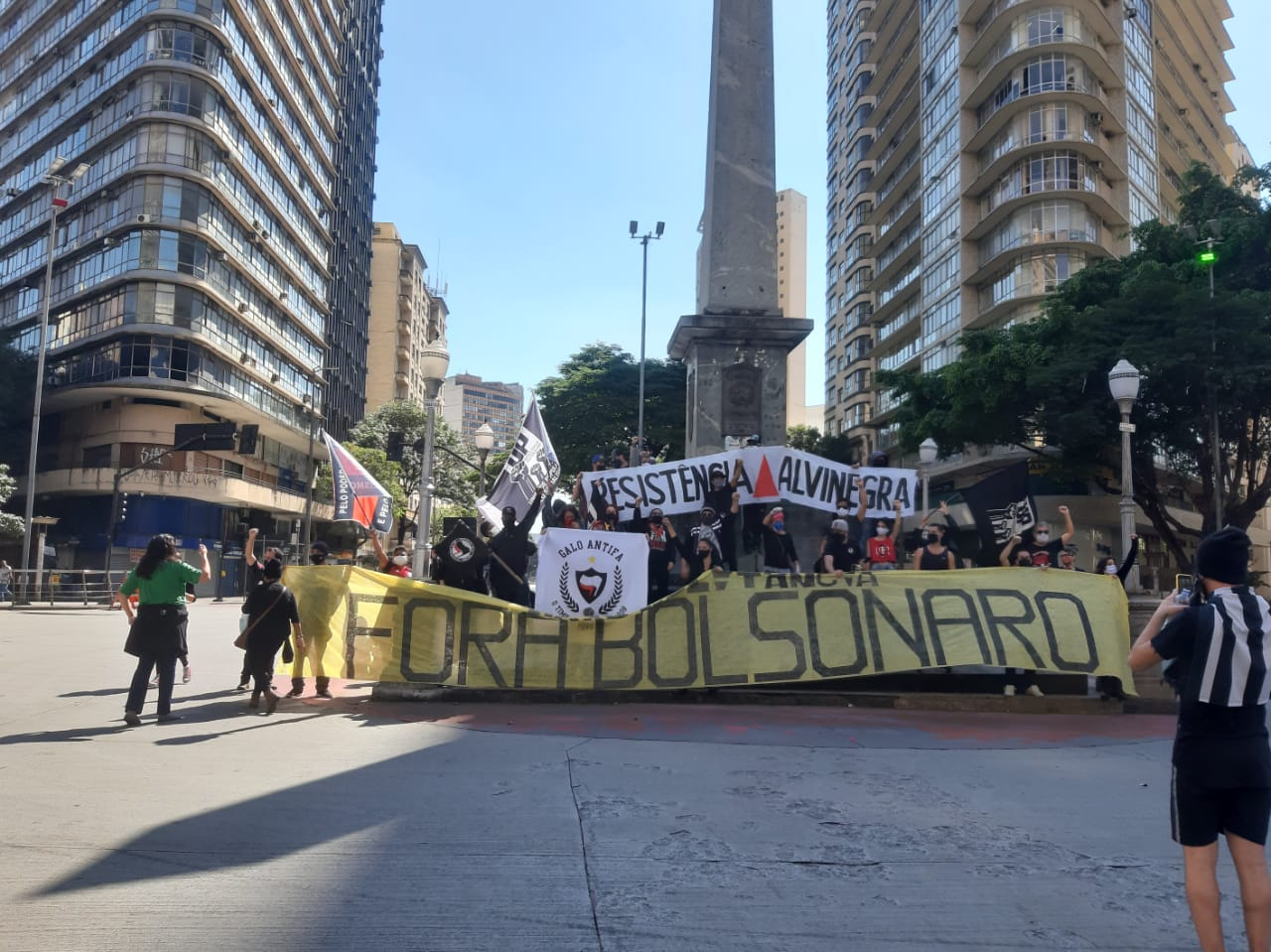 Praça Sete em Belo Horizonte