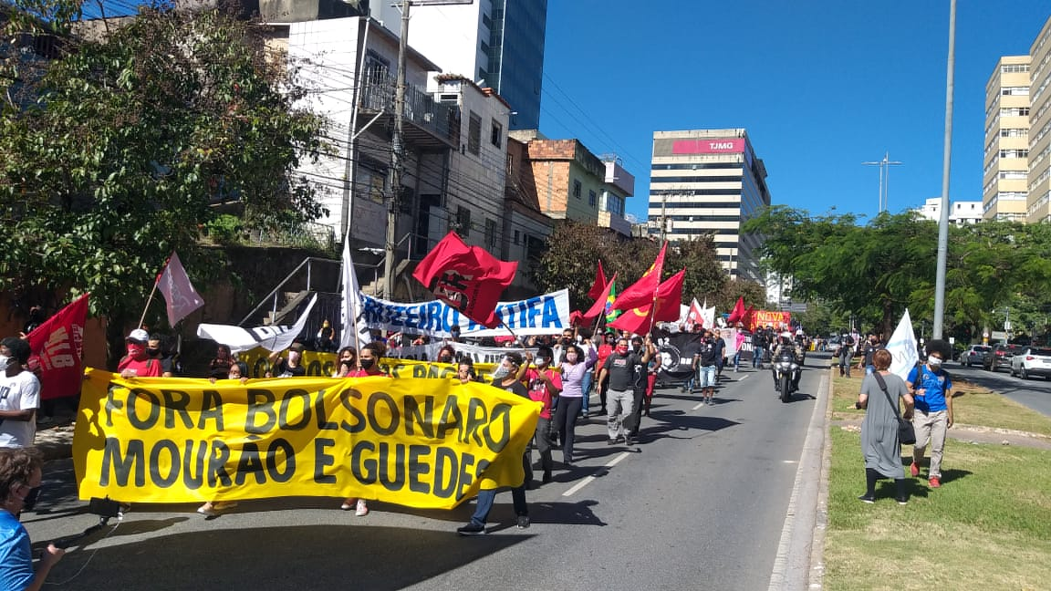 Belo Horizonte neste dia 21