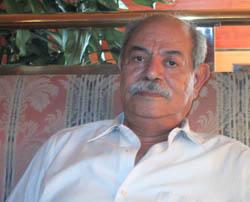 Salah Salah, do Conselho Nacional Palestino