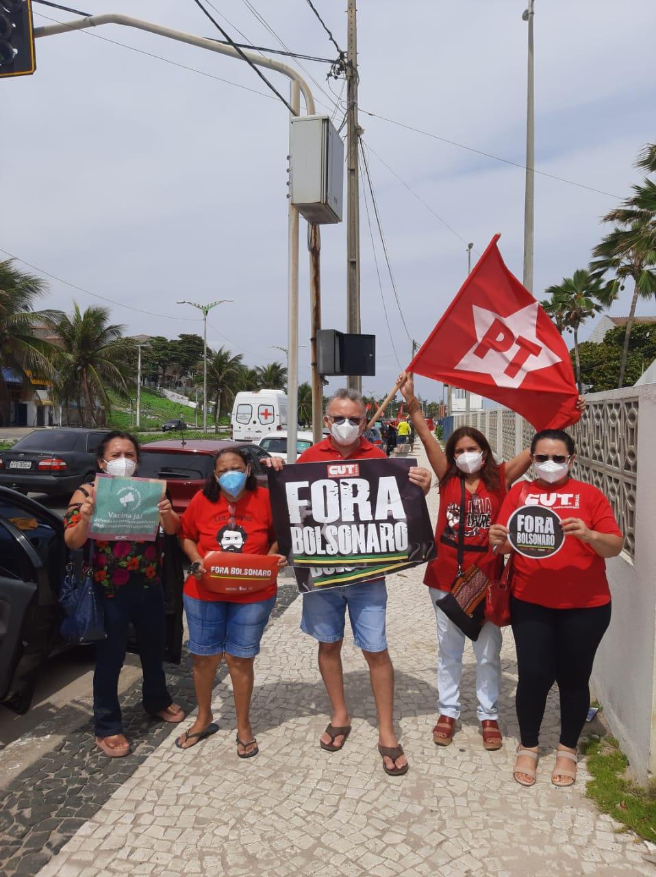 Militantes do DAP em Fortaleza - CE
