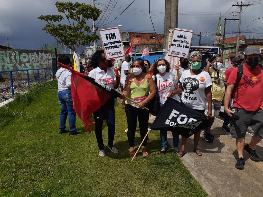 Militância do DAP em Salvador - BA