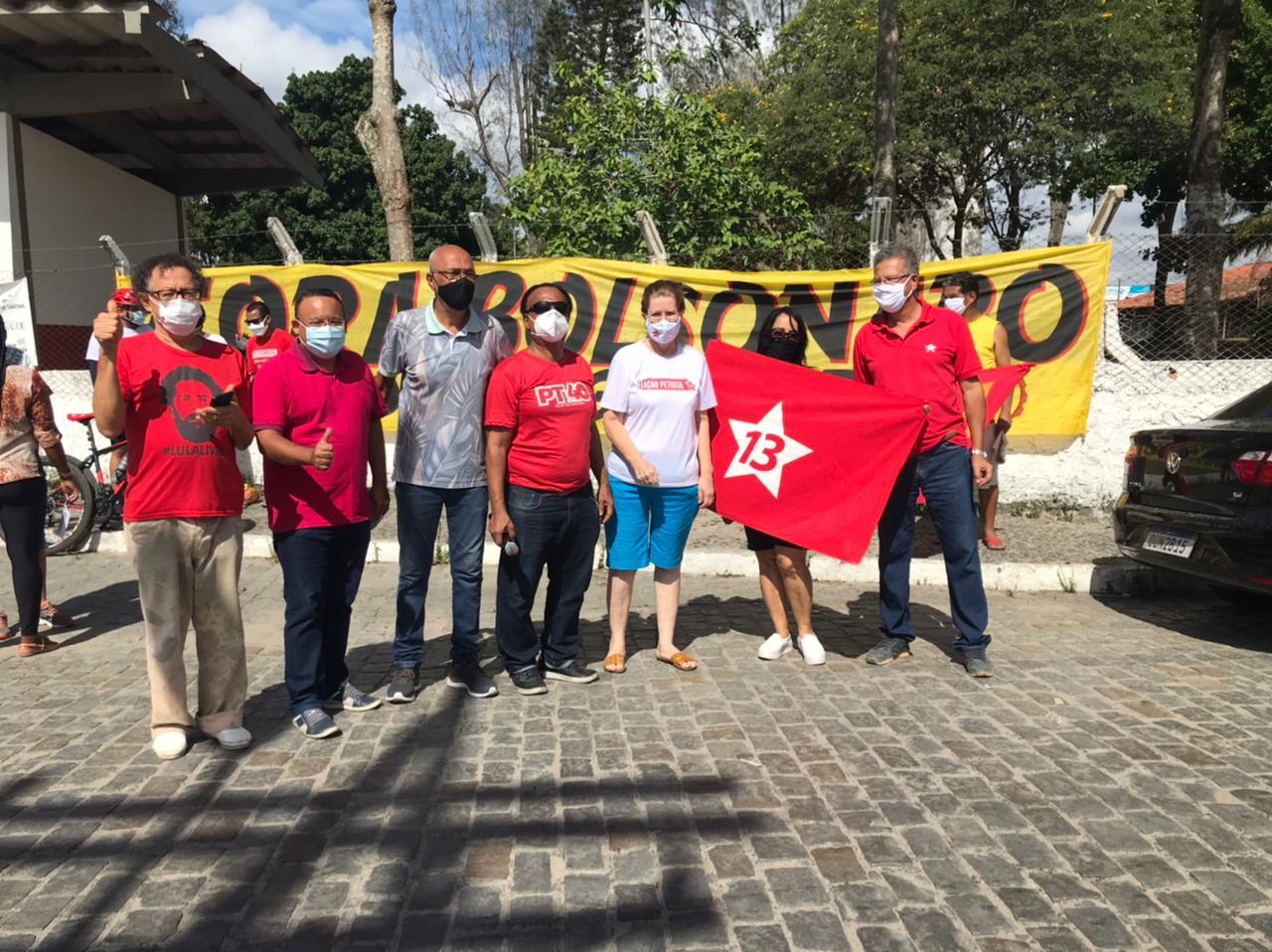 Companheiros do DAP em Feira de Santana - BA